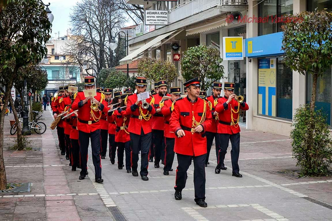 Η Φιλαρμονική του Δήμου Ιωαννιτών στους πεζοδρόμους της πόλης μας